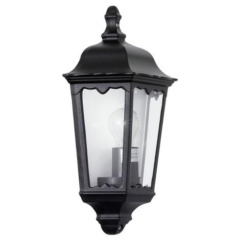 EGLO 4201 - vonkajšie nástenné svietidlo OUTDOOR čierna