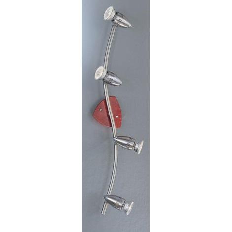 EGLO 45027 - Bodové svietidlo WOODY 4xGU10/50W