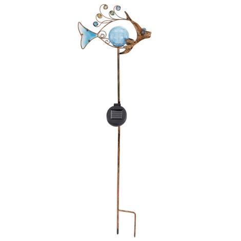 EGLO 47099 - Solární svetlo ryba 1xLED/0,015W bronz