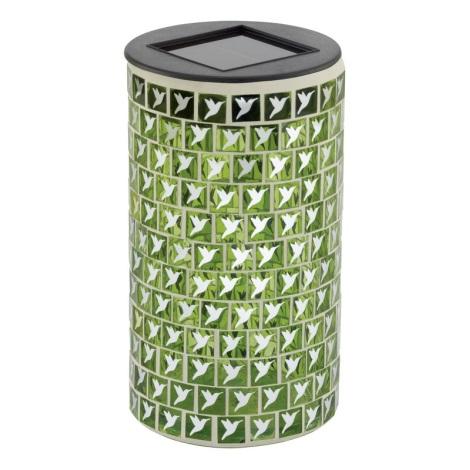 EGLO 47219 - Solární svietidlo VOGEL 1xLED/0,03W zelená