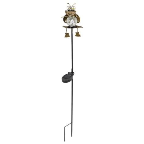 EGLO 47318 - Solární lampa chrobák bronz