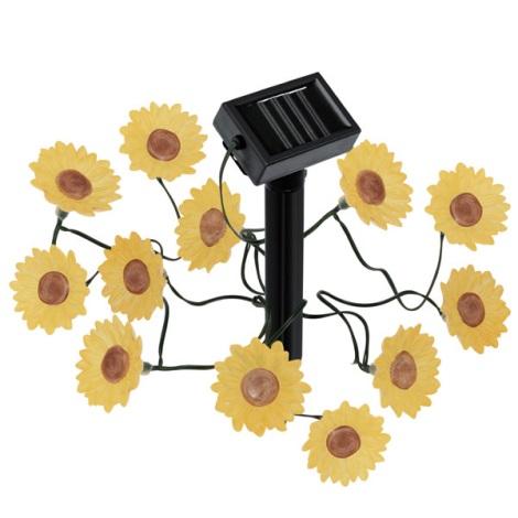 EGLO 47342 - Solární LED osvetlenie kvetiny 12xLED/0,0