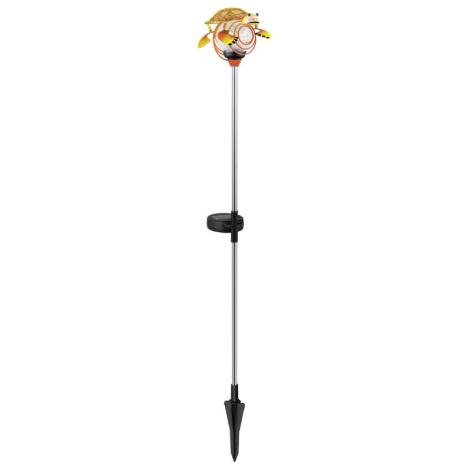 EGLO 47635 - Solární lampa korytnačka 1xLED/0,04W oranžová