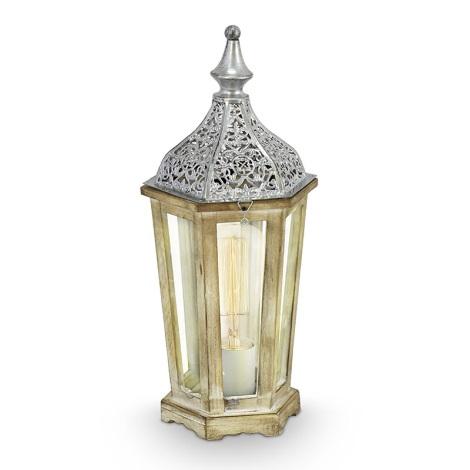 Eglo 49277 - Stolná lampa KINGHORN 1xE27/60W/230V