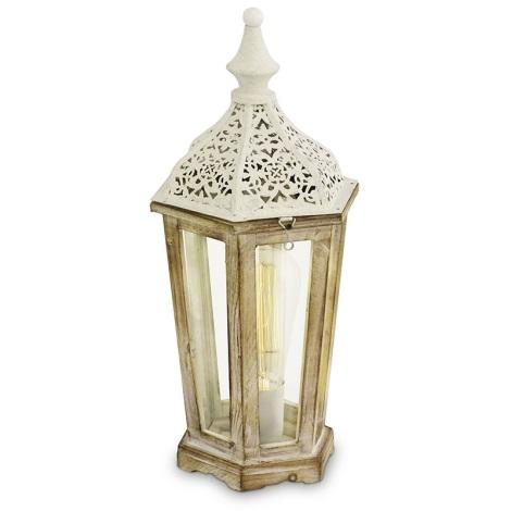 Eglo 49278 - Stolná lampa KINGHORN 1xE27/60W/230V