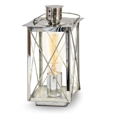 Eglo 49279 - Stolná lampa DONMINGTON 1xE27/60W/230V