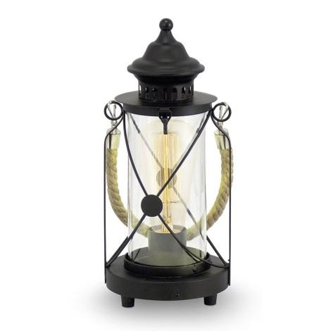 Eglo 49283 - Stolná lampa BRADFORD 1xE27/60W/230V