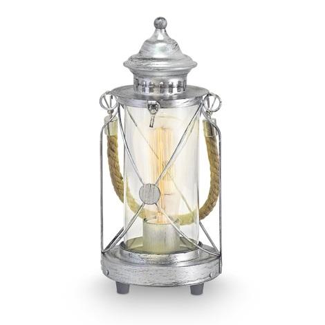 Eglo 49284 - Stolná lampa BRADFORD 1xE27/60W/230V