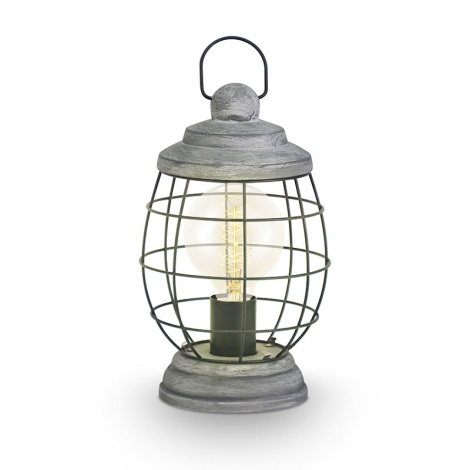 Eglo 49289 - Stolná lampa BAMPTON 1xE27/60W/230V