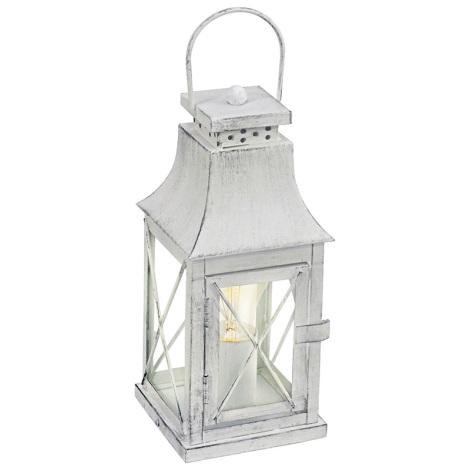 Eglo 49294 - Stolná lampa LISBURN 1xE27/60W/230V