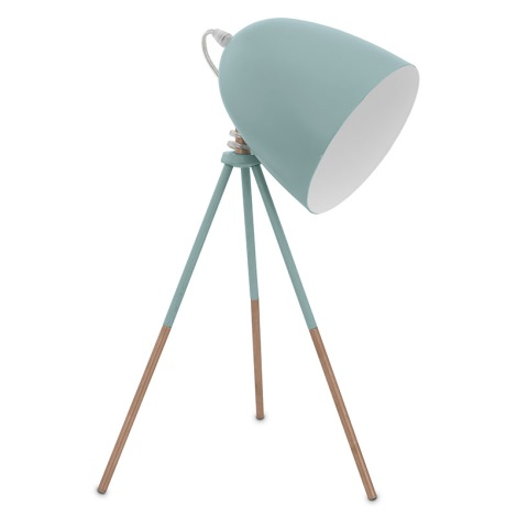 Eglo 49337 - Stolná lampa DUNDEE 1xE27/60W/230V