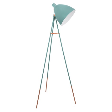 Eglo 49342 - Stojaca lampa DUNDEE 1xE27/60W/230V