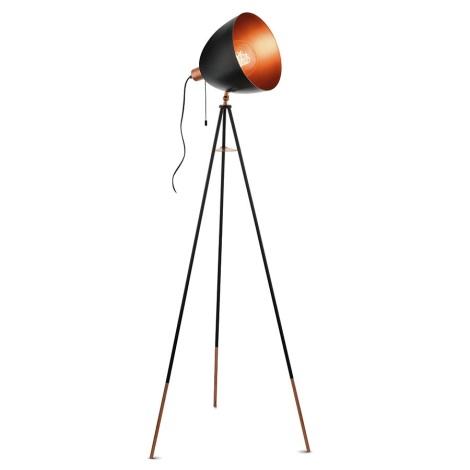 Eglo 49386 - Stojaca lampa CHESTER 1xE27/60W/230V