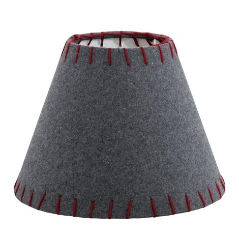 Eglo 49432 - Tienidlo VINTAGE červená vyšívané E14 pr.20,5 cm