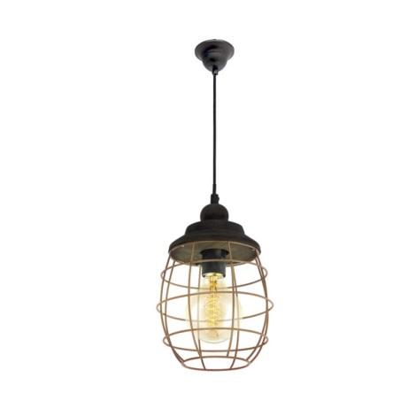 Eglo 49445 - Závesné svietidlo BAMPTON 1xE27/60W/230V