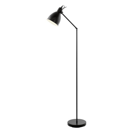 Eglo 49471 - Stojaca lampa PRIDDY 1xE27/40W/230V