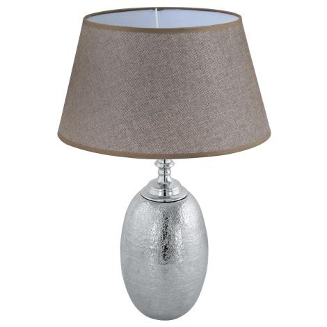 Eglo 49664 - Stolná lampa SAWTRY 1xE27/60W/230V