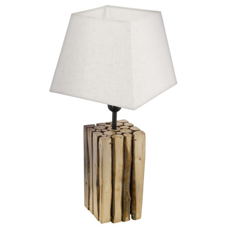 Eglo 49669 - Stolná lampa RIBADEO 1xE27/60W/230V