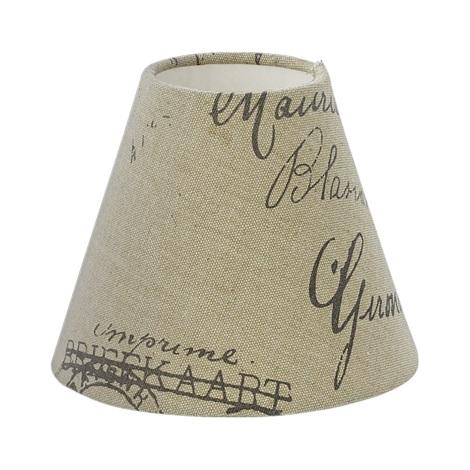 Eglo 49985 - Textilné tienidlo VINTAGE E14 pr.14 cm