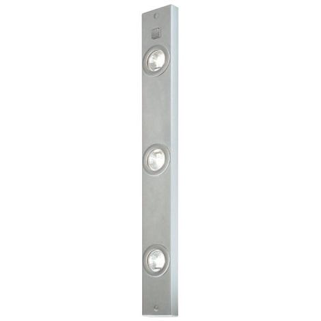 EGLO 50849 - Kuchynské bodové svietidlo 3xG4/20W