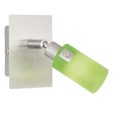 EGLO 51221 - bodové svietidlo KENO 1 1xG9/40W zelená