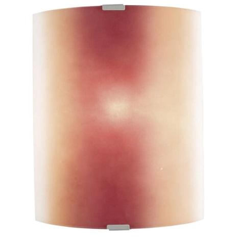 EGLO 51294 - Nástenné svietidlo Bondy 1xE27/100W červená