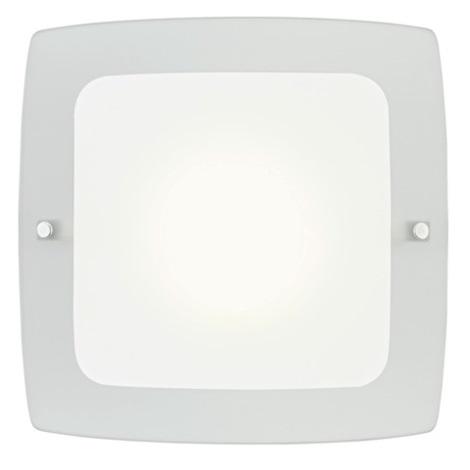 EGLO 51299 - Nástenné stropné svietidlo BONDO 1 1xE27/60W biela/šedá