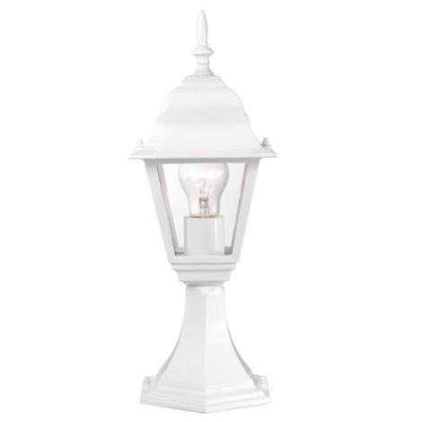 EGLO 51819 - vonkajšia lampa BELFORT 1xE27/60W biela