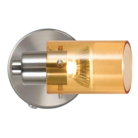 EGLO 51937 - bodové svietidlo STOMP 1xGU10/50W oranžová
