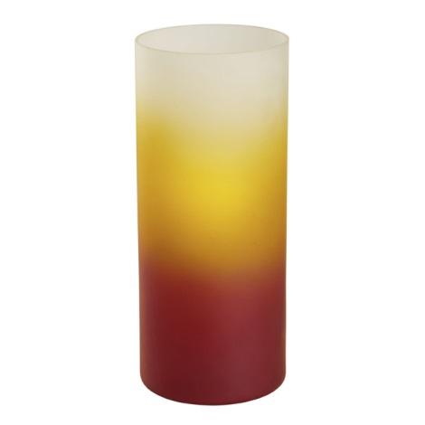 EGLO 51957 - stolné svietidlo 1xE27/60W červená,oranžová