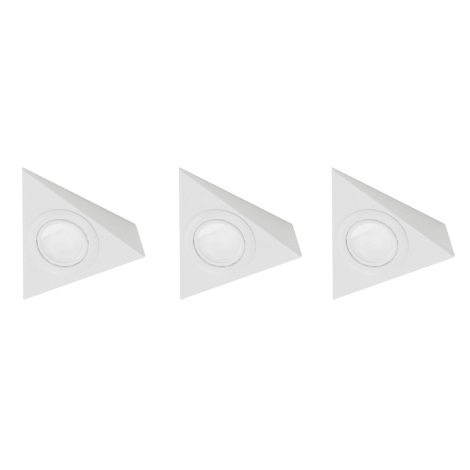 EGLO 52562 - SADA 3x Downlight TRIANA 3xG4/20W