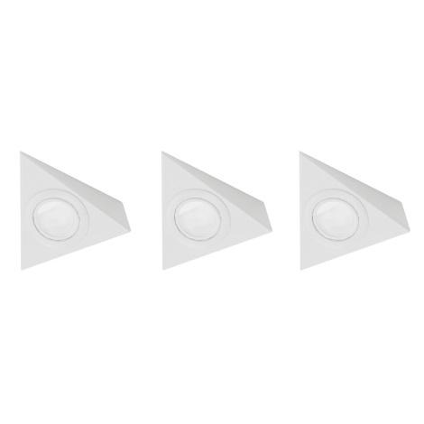 EGLO 52562 - SADA 3x Downlight TRIANA 3xG4/20W