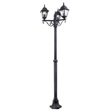 EGLO 52769 - vonkajšia lampa 3xE27/60W čierna