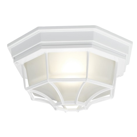 EGLO 5382 - vonkajšia stropné svietidlo LATERNA 7 1xE27/100W biela