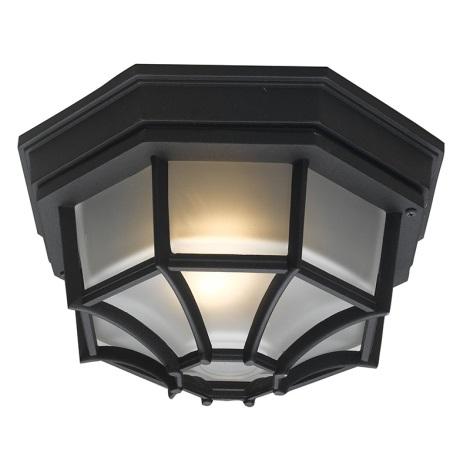 EGLO 5389 - vonkajšia stropné svietidlo LATERNA 7 1xE27/100W čierna