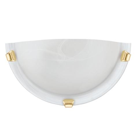 Eglo 7187 - Nástenné svietidlo SALOME 1xE27/60W/230V alabastrové sklo