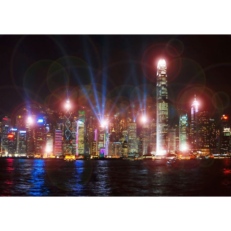 Eglo 75035 - LED svietiaci dekoračný obraz SKYLINE 9xLED/0.02W
