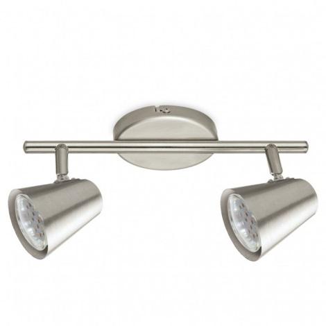 Eglo 75142 - LED Bodové svietidlo TRAVALE 2 2xGU10/3,3W/230V