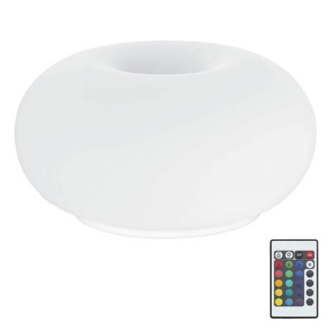Eglo 75355 - LED RGB Stmievateľná stolná lampa OPTICA-C 2xE27/7,5W/230V