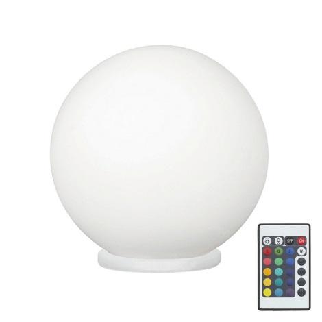 Eglo 79042 - LED RGB Stmievateľná stolná lampa RONDO C 1xE27/7,5W/230V