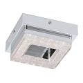 Eglo 79045 - LED Krištáľové stropné svietidlo NOVEL 1xLED/4W/230V