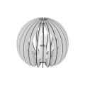 Eglo 79112 - Stolná lampa COSSANO 1xE27/60W/230V biela