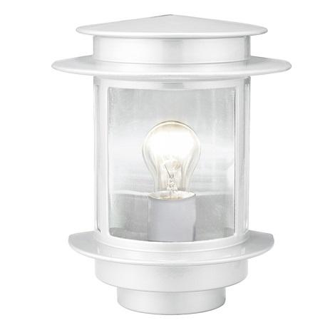 EGLO 80767 - vonkajšie nástenné svietidlo EXIT 1 1xE27/60W biela