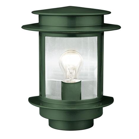 EGLO 80781 - vonkajšie nástenné svietidlo EXIT 1 1xE27/60W zelená