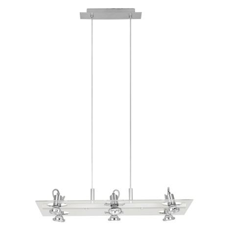 Eglo 82216 - Závesné bodové svietidlo FOCUS 6xGU10/50W/230V