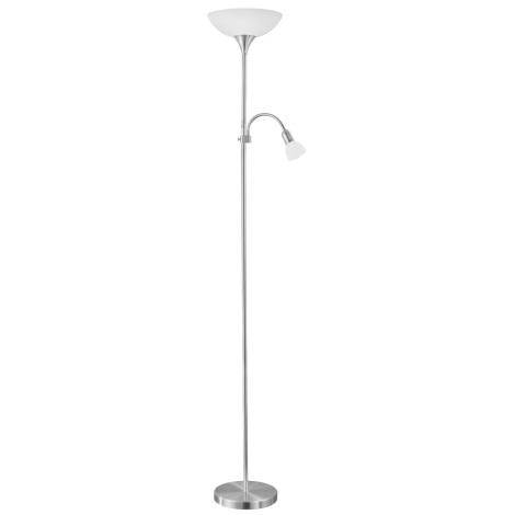 EGLO 82842 - Stojací lampa UP 2 1xE27/60W + 1xE14/25W