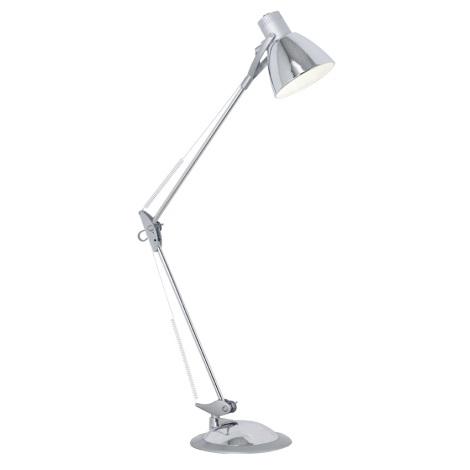 Eglo 82939 - Stolná lampa TIME 1xE27/60W/230V
