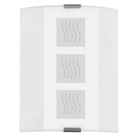 EGLO 83134 - Nástenné stropné svietidlo grafik biela