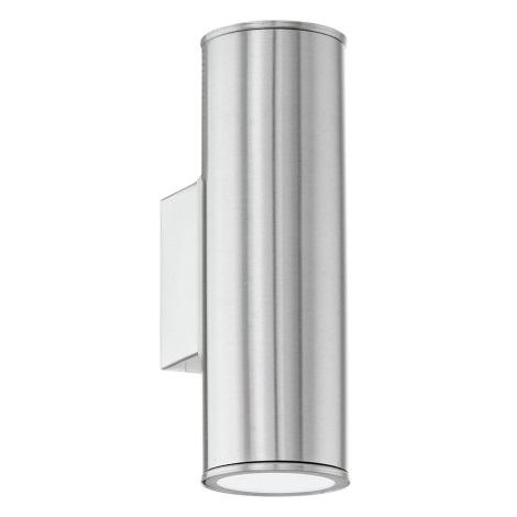 EGLO 84002 - Vonkajšie nástenné svietidlo RIGA 2xGU10/50W/230V