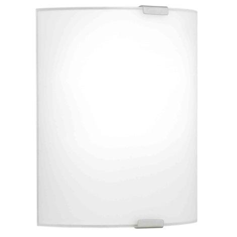 EGLO 84028 - Nástenné stropné svietidlo grafik 1xE27/60W biela
